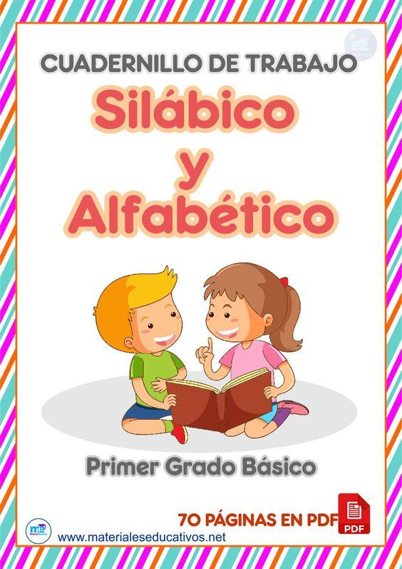 Cuadernillo de trabajo Silábico Alfabético