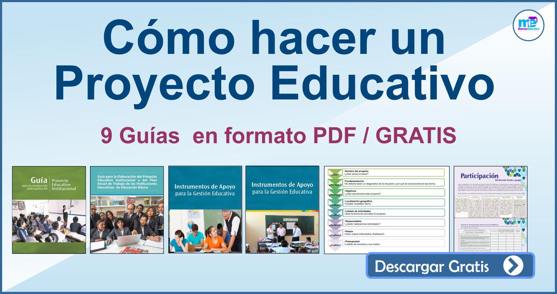 Cómo hacer un Proyecto Educativo