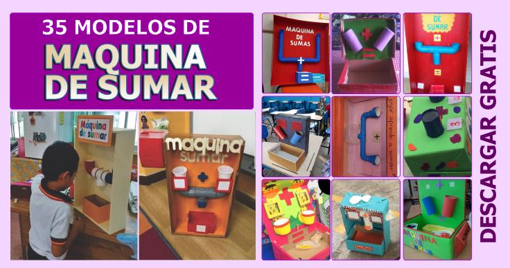35 MODELOS DE MAQUINA DE SUMAR