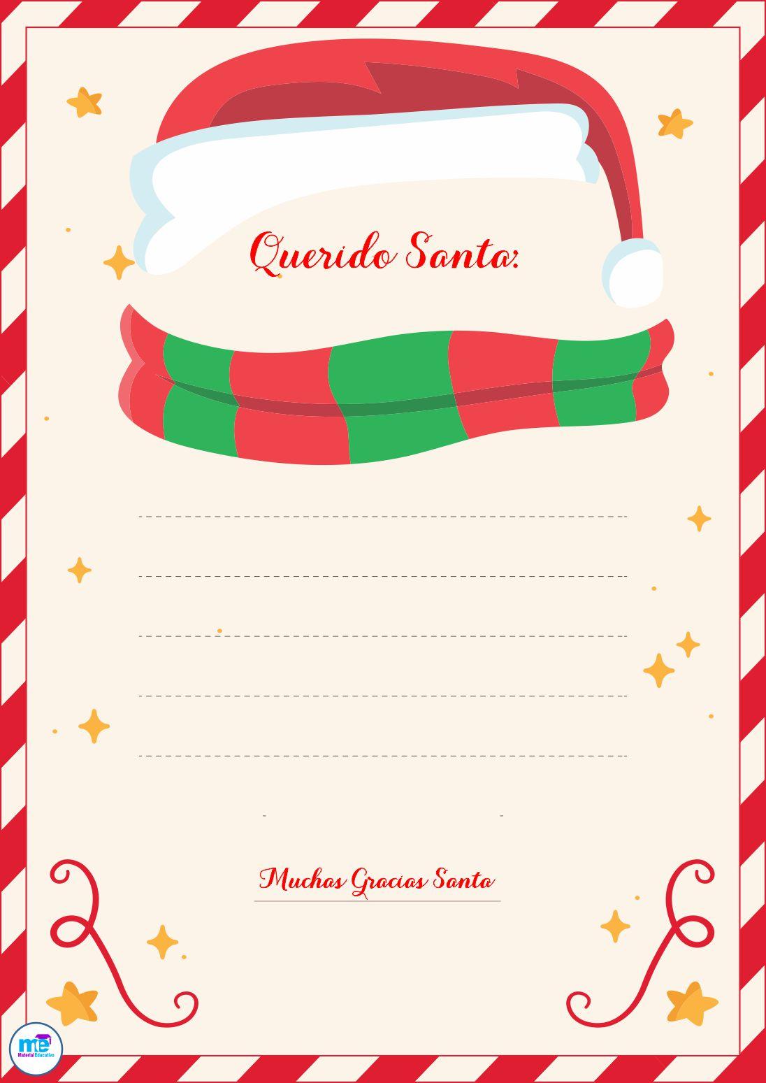 Carta a Papá Noel Diseño 11